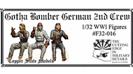 Gotha Bomber German 2nd crew #CSMF32-016