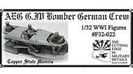 AEG G.IV Bomber German Crew #CSMF32-022