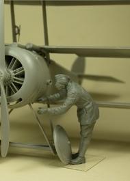 RFC Air Mechanic checking aircraft #CSMF32-026
