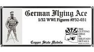 Copper State Models  1/32 WWI German Flying Ace CSMF32-031