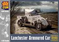 Copper State Models  1/35 Lanchester Armoured Car CSM35001