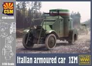 Copper State Models  1/35 Italian Armoured Car 1ZM CSM35005
