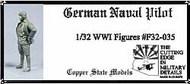 Copper State Models  1/32 German Naval pilot CSMF32-035