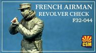 Copper State Models  1/32 French airman checking revolver CSMF32-044