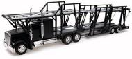 NewRay Diecast  1/32 Freightliner Classic XL w/Dbl Decker Auto Carrier (Die Cast) NRY10003