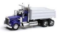 NewRay Diecast  1/32 Kenworth W900 Dump Truck (Blue) (Die Cast) NRY10863