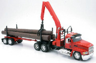 Mack CH w/Log Hauler Trailer (Die Cast) #NRY13173