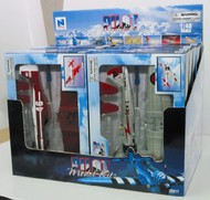 NewRay Diecast  1/48 WWII Fighter Plane Counter Display (12 Total) (Plastic Kits) NRY20217