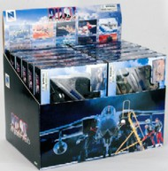 NewRay Diecast  1/72 Modern Fighter Jet Counter Display (12 Total) (Plastic Kits) NRY21317