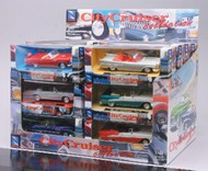 NewRay Diecast  1/43 City Cruiser Classic American Car Counter Display (24 Total) (Die Cast) NRY48257
