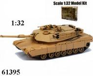 NewRay Diecast  1/32 M1A1 Abrams Tank (Plastic Kit) NRY61395