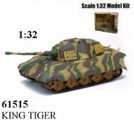 NewRay Diecast  1/32 King Tiger Tank (Plastic Kit) NRY61515