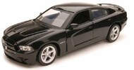 NewRay Diecast  1/24 Dodge Charger (Black) (Die Cast) (Replaces #71916) NRY71913