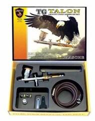 Talon Gravity Feed Double Action Airbrush Set w/3 Heads & Fan Air Cap (TG-3F) #PAS14590