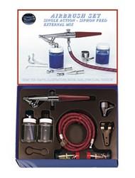 Paasche  Airbrush Airbrush Set w/H Brush Heavy Duty (H-SET) PAS31