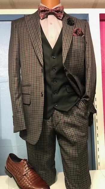 Designer Wool Suit #DWS-650571