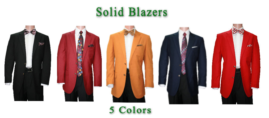 Solid Blazers