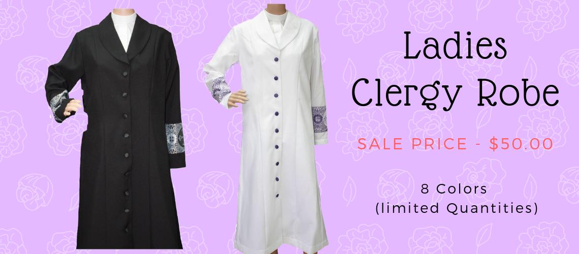 Ladies Clergy Robe