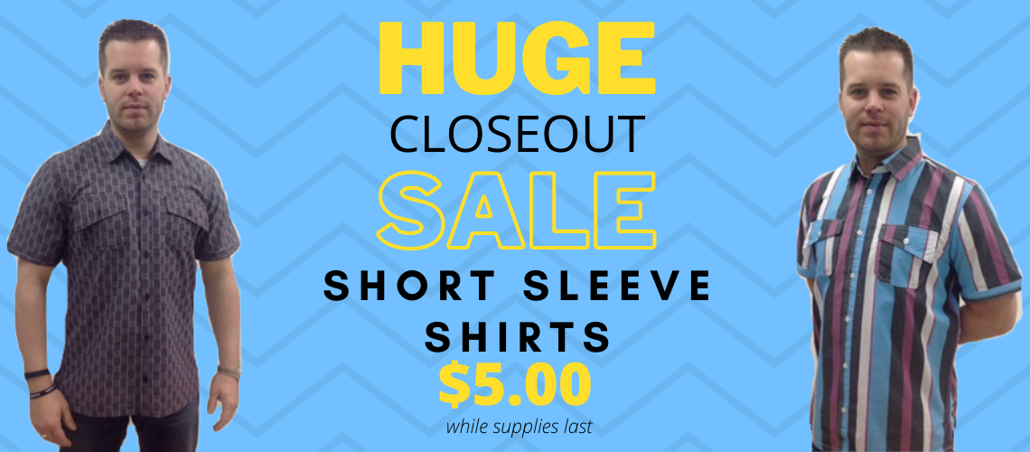 Short Sleeve Shirt Sale