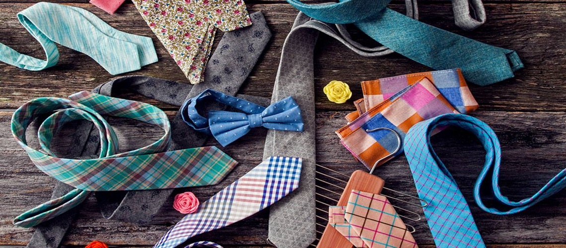 Assortment of Ties at Menz Fashion