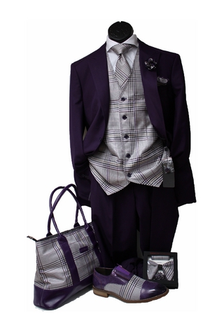 Classic 19-8 Suit -Purple CL19-8purple