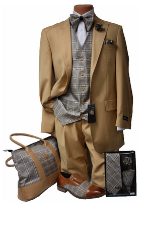 Classic 19-999 Suit -Goldish Tan CL19-999goldishtan