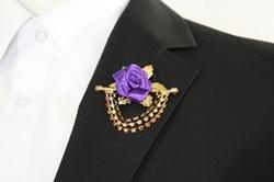 Flower Chain Lapel - Purple FCL-Purple