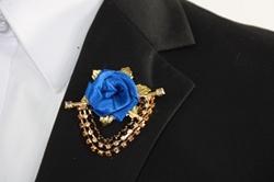 Flower Chain Lapel - R.Blue FCL-R.Blue