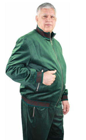Sweat Suit Greek-Green greek-green