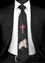 Religious Tie 18051 RMWT-18051