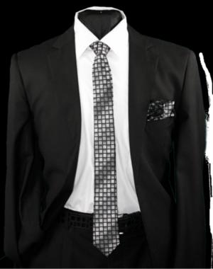 Skinny Tie and Hanky 19052 SKTH-19052