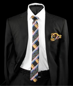 Skinny Tie and Hanky 19054 SKTH-19054