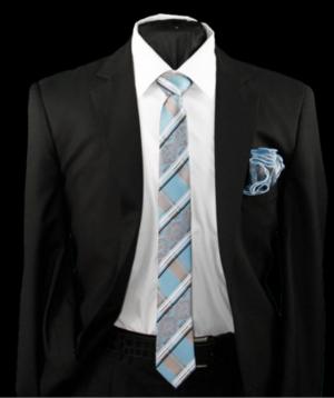 Skinny Tie and Hanky 19055 SKTH-19055