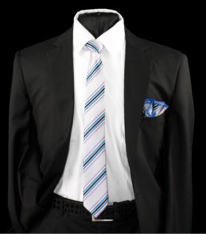 Skinny Tie and Hanky 19056 SKTH-19056