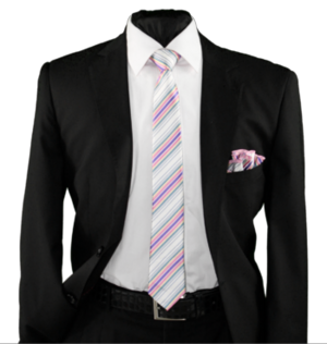Skinny Tie and Hanky 19057 SKTH-19057
