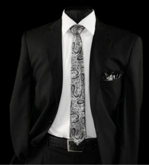 Skinny Tie and Hanky 19059 SKTH-19059