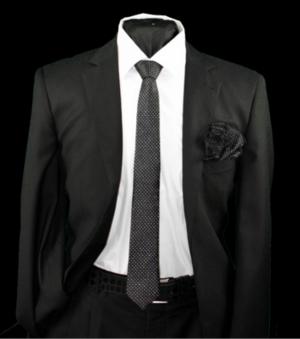 Skinny Tie and Hanky 19060 SKTH-19060