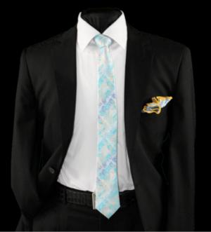 Skinny Tie and Hanky 19065 SKTH-19065