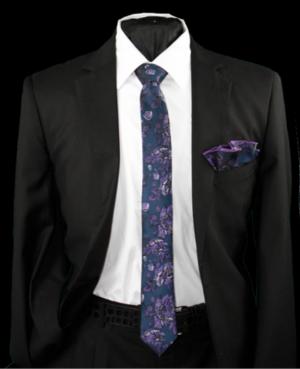 Skinny Tie and Hanky 19070 SKTH-19070