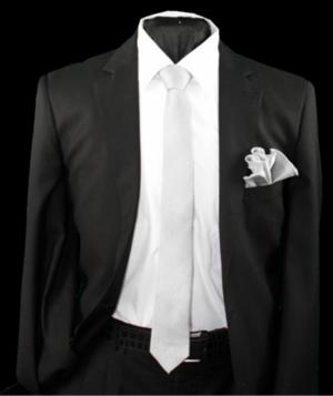 Skinny Tie and Hanky 19071 SKTH-19071