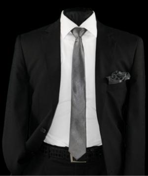Skinny Tie and Hanky 19072 SKTH-19072