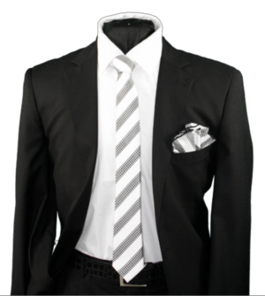 Skinny Tie and Hanky 19077 SKTH-19077
