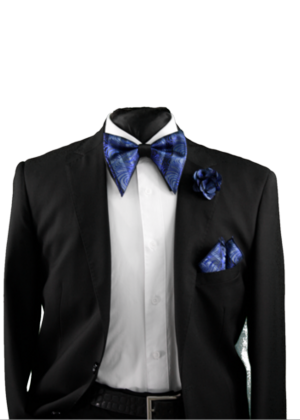 Tear Drop Bowtie Set-SQTDB-1904 SQTDB-1904