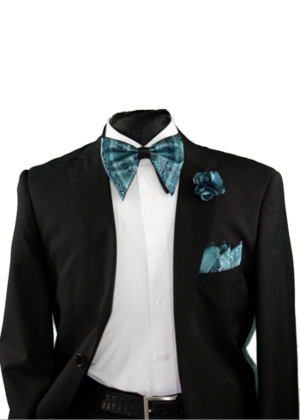 Tear Drop Bowtie Set-SQTDB-1906 SQTDB-1906