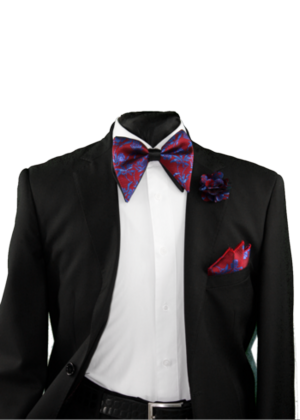 Tear Drop Bowtie Set-SQTDB-1915 SQTDB-1915