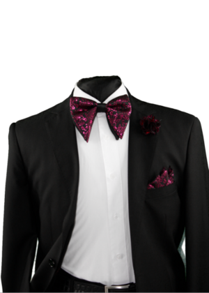 Tear Drop Bowtie Set-SQTDB-1920 SQTDB-1920