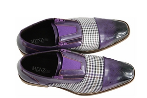 Zip on Menz 014 Purple ZIPONMENZ014-Purple