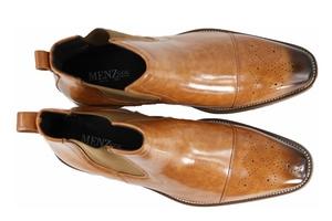 Menz Chelsea Boot Cognac MZ015Cognac