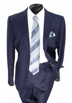 Business 2 Button Suit Navy b2bsnavy