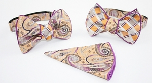 Free Style Double Sided Bow-Tie -PLBT-024 PLBT-024